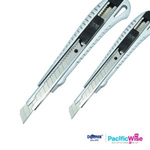 Cutter Knife DOL-8396/DOL-8398/Dolphin Utility Knife/Stationery Blade/Pisau Pemotong  (2 Sizes)