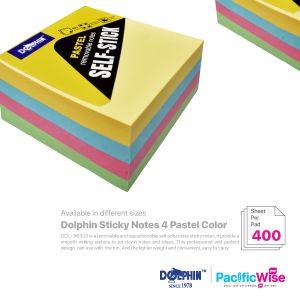 Dolphin/Removable Sticky Note/Nota Melekit/Pastel Colour (2 Sizes)
