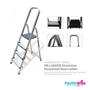 Dr.Ladder Aluminium Household Step Ladder