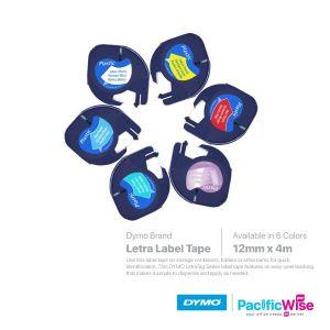 Dymo Letra Label Tape (Plastic)