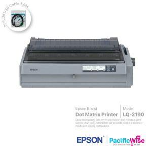 Epson Dot Matrix Printer LQ-2190+USB Cable (1.5M)