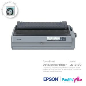 Epson Dot Matrix Printer LQ-2190+USB Cable (1.8M)