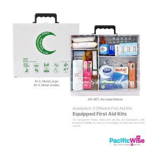 Equipped First Aid Kits