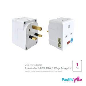 Eurosafe 3 Way Adaptor (940S)