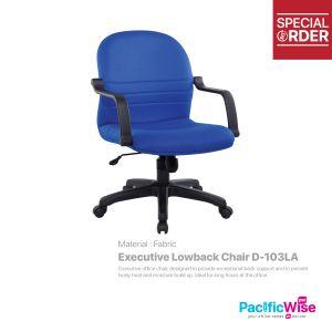 Executive Lowback Chair/Kerusi Eksekutif Rendah D-103LA