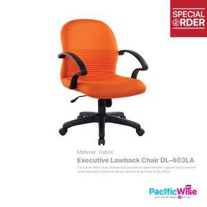 Executive Lowback Chair/Kerusi Eksekutif Rendah DL-403LA
