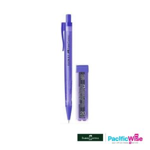 Faber Castell/Mechanical Pencil Econ/Ikon Pensil Mekanikal/Writing Pen/0.5mm (Free 1 Tube Lead)