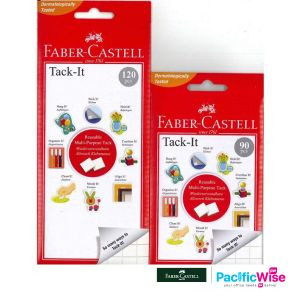 Faber Castell Adhesive/Faber Castell Tack-It/Pelekat Putih