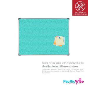 Fabric Notice Board with Aluminium Frame