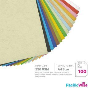 A4/Fancy Card/Kad Mewah 230gsm/Card Stock Paper (100'S)