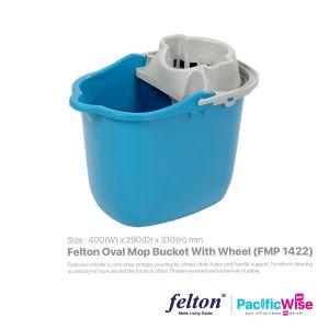 Felton Oval Mop Bucket with Wheel (FMP 1422)
