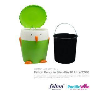 Felton Penguin Step Bin 10 Litre (FDB2206)