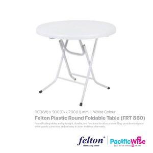 Felton Plastic Round Foldable Table (FRT 880)