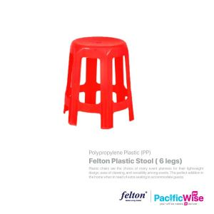 Felton Plastic Stool (6 legs)