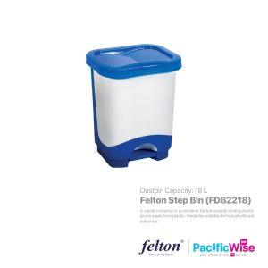 Felton Step Bin 18 Litre (FDB2218)