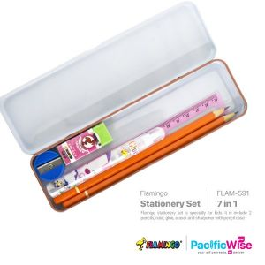 Flamingo Stationery Sets 7 in 1