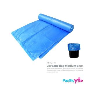 Garbage Bag Medium Blue (30's)