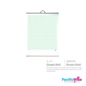 Graph Roll (WBR34G) Green Grid