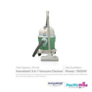 Hanabishi 3 in 1 Vacuum Cleaner 1600W (2008)