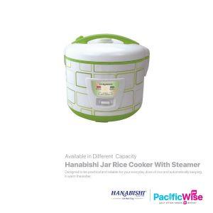 Hanabishi Jar Rice Cooker with steamer