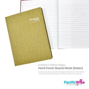 Hard Cover Quarto Book (Index)