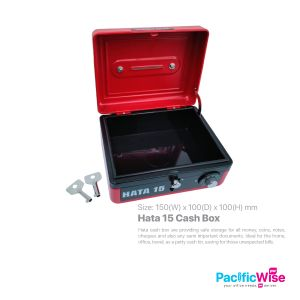 Hata/Cash Box/Kotak Tunai/Box/Hata 15