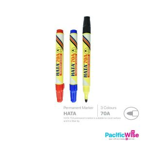 Hata/Permanent Marker/Penanda Kekal/Writing Pen/70A/1.0mm