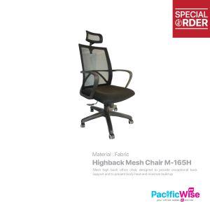 Highback Mesh Chair/Kerusi Mesh Tinggi/M-165H