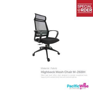 Highback Mesh Chair/Kerusi Mesh Tinggi/M-268H
