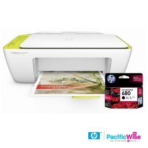 Deskjet Printer 2135/Ink Catridge 680 Black/HP/Pencetak Deskjet/Katrij dakwat Hitam/Original (1set)