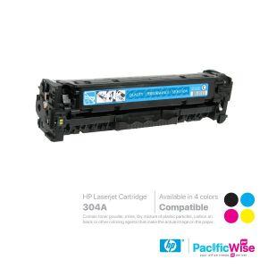 HP 304A LaserJet Toner Cartridge CC530A ~ CC533A (Compatible)
