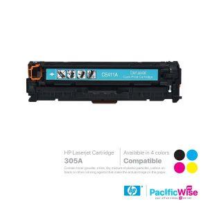 HP 305A LaserJet Toner Cartridge CE410A ~ CE413A (Compatible)