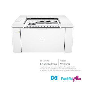 HP Mono LaserJet Pro M102W Printer