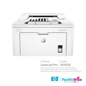 HP Mono LaserJet Pro M203D Printer