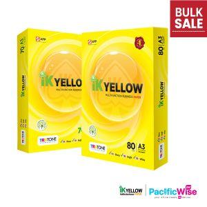 A3 Paper/IK Yellow/Indah Kiat/A3 Kertas 80gsm/A3 Kertas 70gsm/Copier Paper (450'S/Ream)