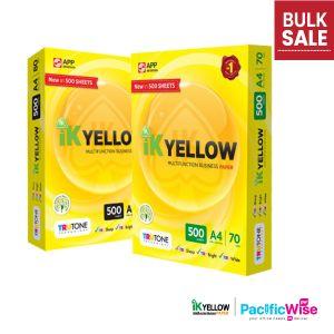 A4 Paper/IK Yellow/Indah Kiat/A4 Kertas 80gsm/A4 Kertas 70gsm/Copier Paper