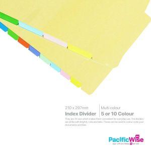 Coloured Index Divider