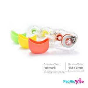 Fullmark/Correction Tape/Pita Pembetulan/Writing Pen/6m (Japanese)