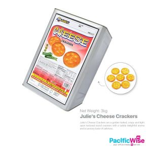Julie's Cheese Crackers (3kg) (TIN NOT REFUNDABLE)