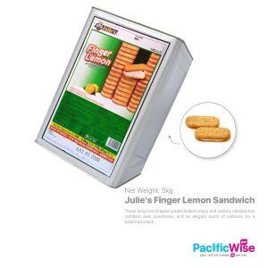 Julie's Finger Lemon Sandwich (5kg) (TIN NOT REFUNDABLE)