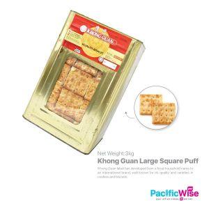 Khong Guan Large Square Puff (3kg) (+RM 10 deposit)