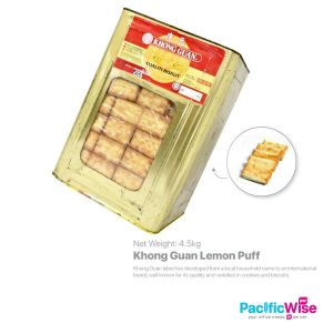 Khong Guan Lemon Puff (4.5kg) (+RM10 deposit)