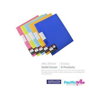 Kokuyo Pocket Book 6 Pockets Solid Cover