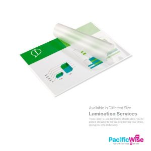 Lamination Services (With Size)
