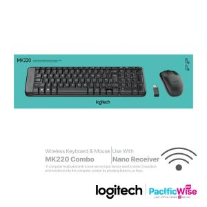 Logitech Wireless Keyboard & Mouse MK220