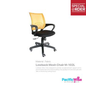 Lowback Mesh Chair/Kerusi Punggung Rendah/M-102L