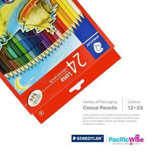 Staedtler/Luna Colour Pencil/Pensil Warna Luna/Colouring (12/24Pcs)