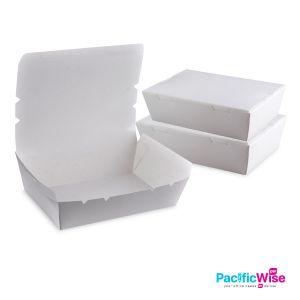 Disposable Lunch Box/Takeaway Lunch Box/Paper Lunch Box/Kotak Makan
