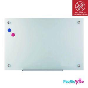 Glassboard/Magnetic Glassboard/Papan Kaca Dengan Megnetik (Various Sizes)
