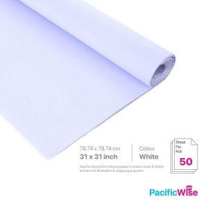 "Mahjong Paper/Kertas Mahjong/Paper Packing Material/31"" x 31"" (50'S)"